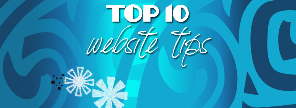 top10 website tips