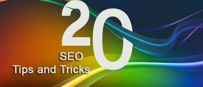 20 Top Tips For SEO